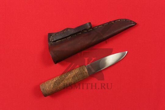 """Нож бытовой средневековый """"Новгородский-2"""", с ножнами"""