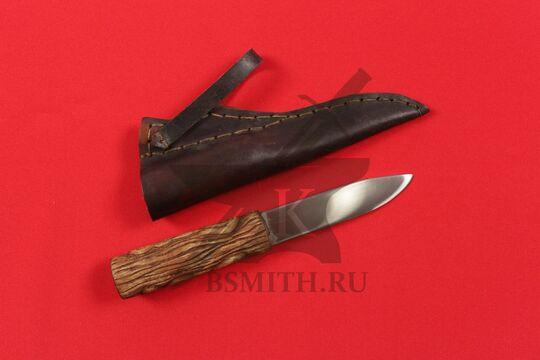 Нож бытовой средневековый, вариант 8, с ножнами, фото 2