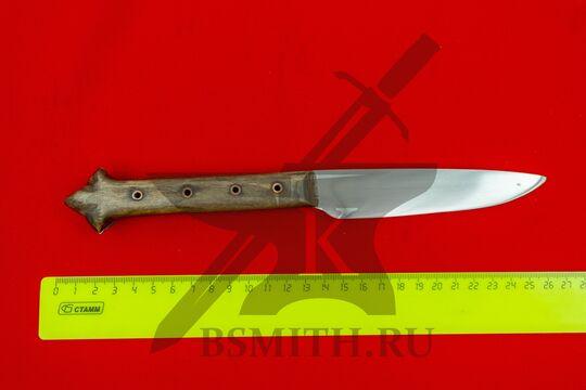 Нож с деревянной рукоятью, Европа, вариант 3, размеры