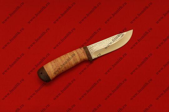 """Нож """"Клычок-2"""", рукоять наборная береста, фото 3"""