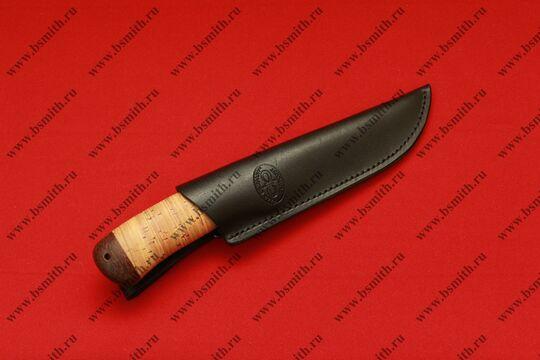 """Нож """"Клычок-2"""", рукоять наборная береста, фото 5"""
