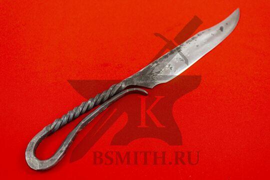 Нож новгородский большой, вариант 1, фото со стороны рукояти
