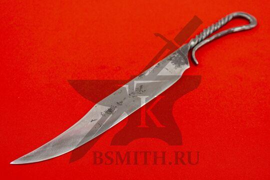 Нож новгородский большой, вариант 1, фото со стороны клинка
