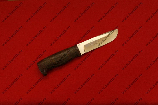 "Нож ""Полярный"", рукоять наборная кожа, фото 2"