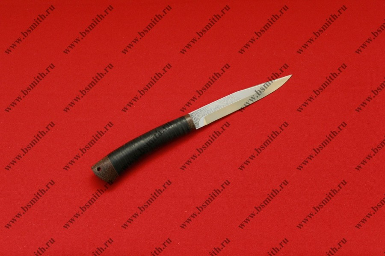"Нож ""Заноза"", рукоять наборная кожа, фото 2"