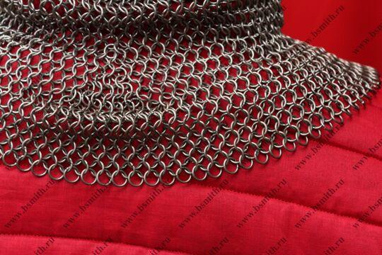 Койф кольчужный, круглое ожерелье, 1.6х8 мм, фото 4