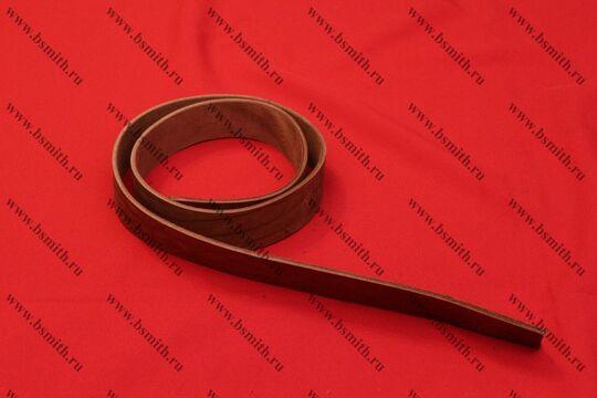 Заготовка для ремня, ширина 40 мм, коричневая