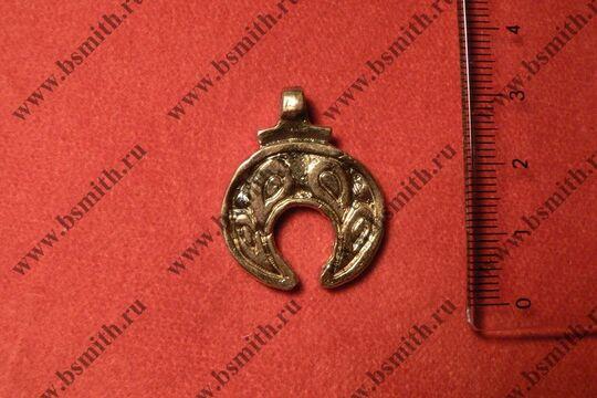 Лунница, Вятичи, 9-10 век, размеры