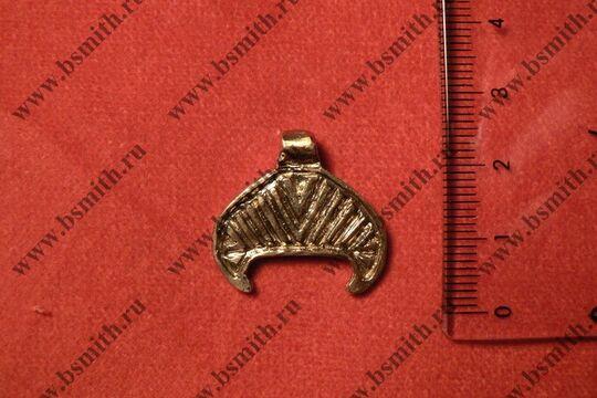 Лунница, Новгород, 8-11 века, размеры