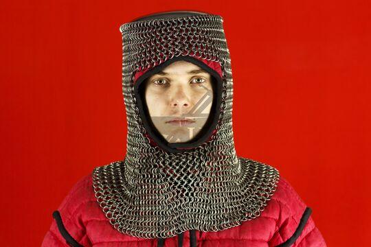 Шлем мисюрка с бармицей 2х10 мм