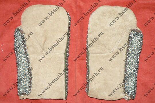 Варежки кольчужные, фото 2