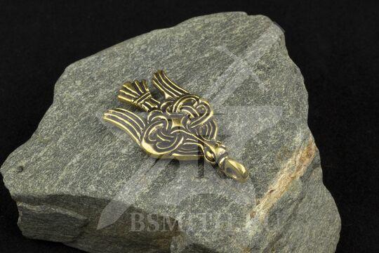 """Привеска """"Сокол"""", Бирка, 9-10 век, фото 2"""