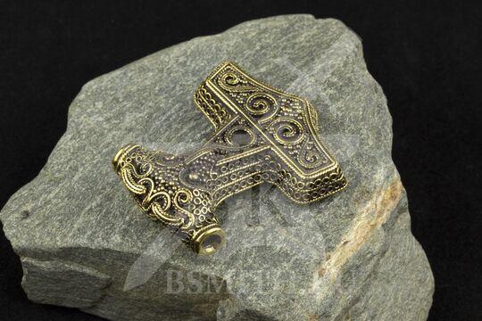 """Подвеска """"Мьелнир"""", о. Сконе, 9-10 века, фото 2"""