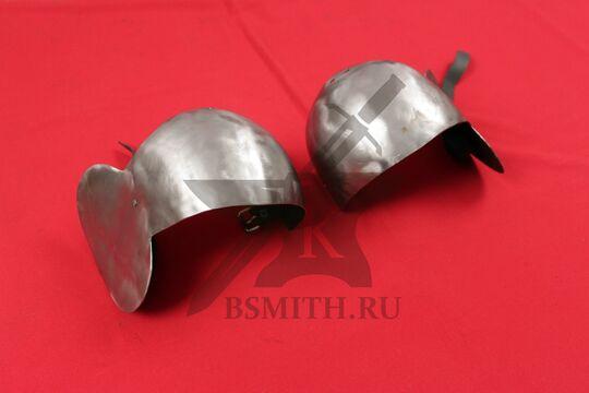 Наколенники миланские с лепестком, вариант 3, фото 5