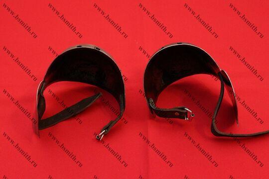Наколенники миланские с лепестком, вариант 2, фото 4