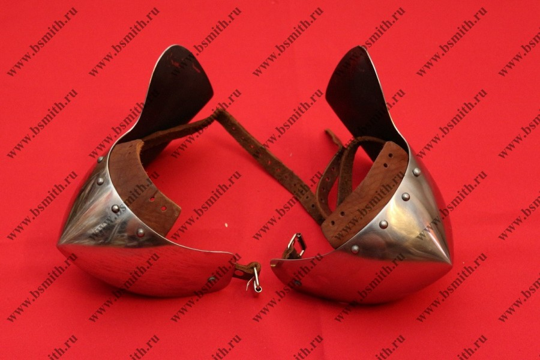 Наколенники миланские с лепестком, 65Г, фото 3