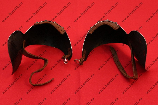Наколенники миланские с лепестком, 65Г, фото 4