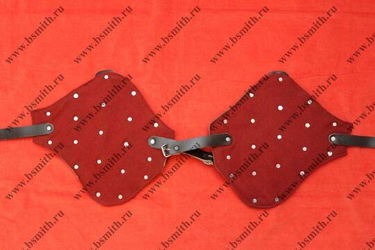 Набицепсники бригандные, сукно, стальные пластины, фото 1