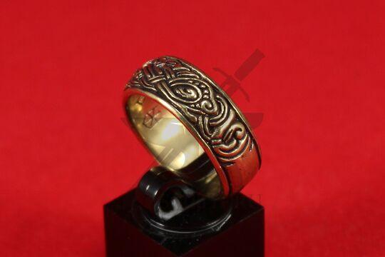 Кольцо со скандинавской плетенкой, фото 3