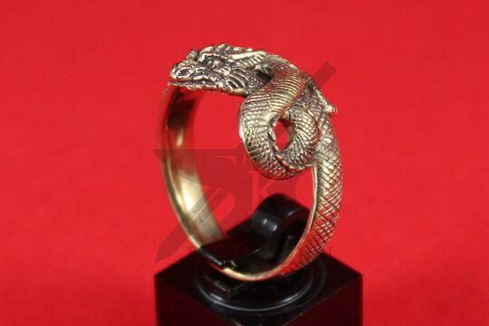"""Кольцо """"Дракон"""", литье, фото 2"""