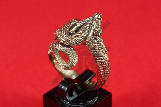 """Кольцо """"Дракон"""", литье, фото 4"""