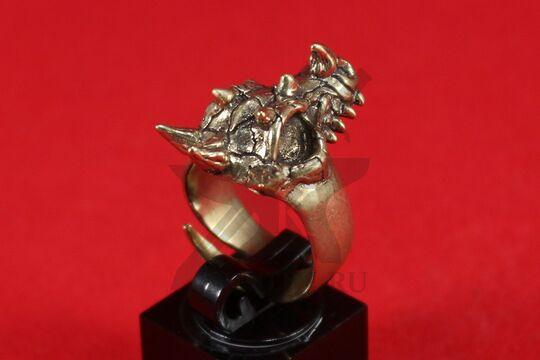 "Кольцо ""Череп дракона"", фото 4"