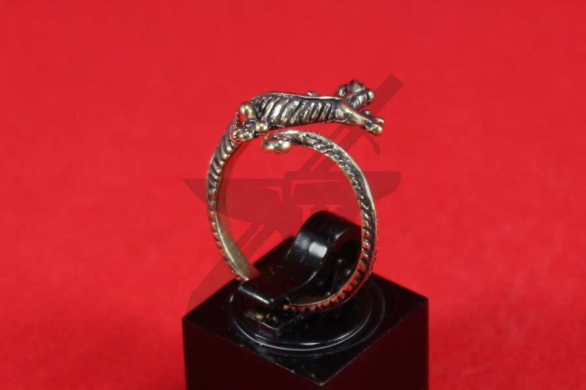 "Кольцо ""Ящерка"", фото 3"
