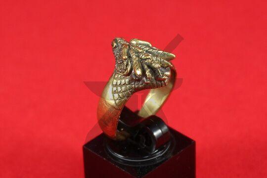 "Кольцо ""Голова дракона, вариант 3"", фото 3"