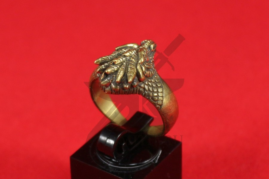 "Кольцо ""Голова дракона, вариант 3"", фото 4"
