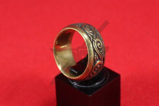 Кольцо с растительным орнаментом, фото 3