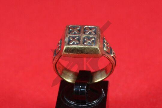 Кольцо, Русь (Серпухов) 12 век. Литье. Фото 2