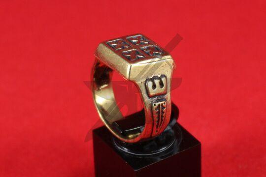 Кольцо, Русь (Серпухов) 12 век. Литье. Фото 3