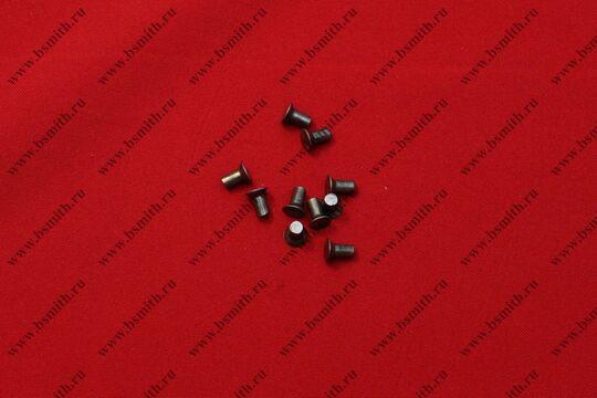 Заклепки стальные 4х8 мм, впотай, фото 1