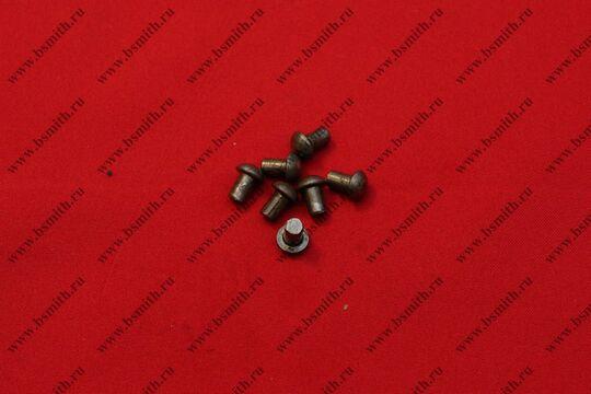 Заклепки стальные 5х8 мм, 100 гр, фото 1