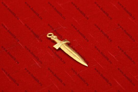"""Подвеска литая """"меч короткий"""", фото 2"""