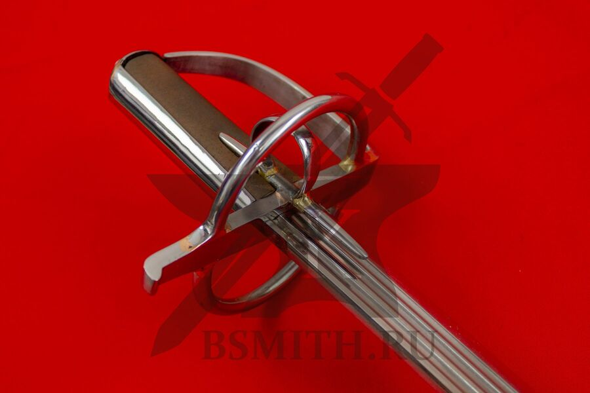 Сабля польская, тип 1с, эфес крупно со стороны клинка