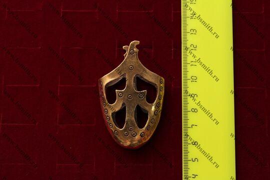 Наконечник ножен, Дания, Тимерево, 10 век, размеры