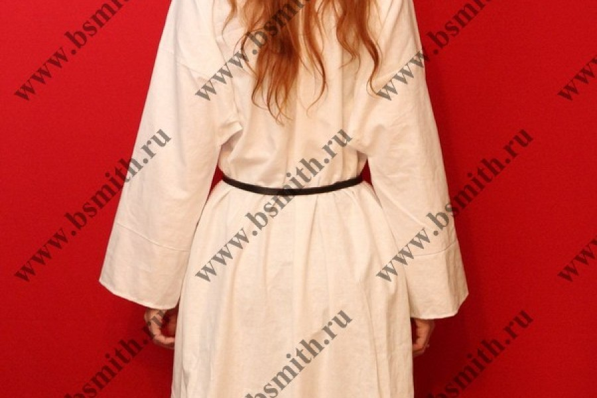 Рубаха женская, Русь, лен. Ручной шов. фото 5
