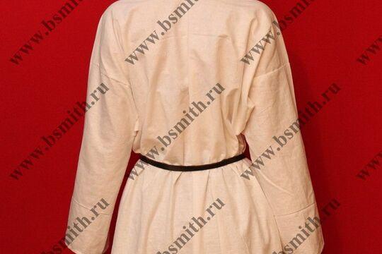 Рубаха женская, Русь, лен. Ручной шов. фото 8