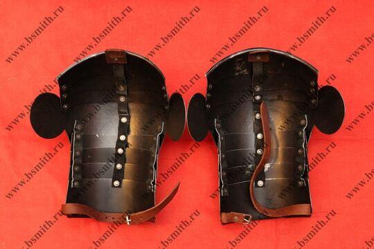 Наплечники сегментные с лепестками, сталь 65Г, фото 3