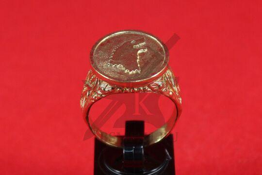 Перстень с гербом Старков, фото 2