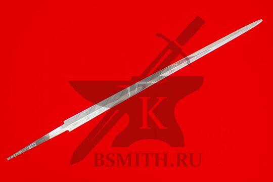 Клинок готического полуторного меча полированный