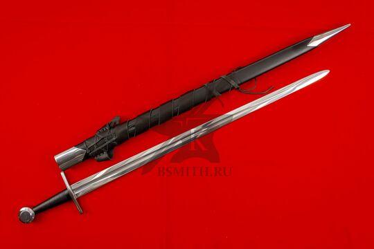 Меч Тип XI, вариант 2, с ножнами с стальным гарнитуром