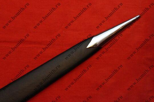 Меч типа ХIV по типологии Окшотта (из Музея Метрополитан), наконечник ножен