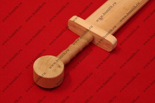 Меч деревянный детский малый, фото 3