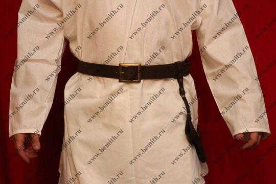 Перевязь поясная коричневая, фото 3
