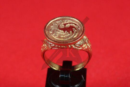 Перстень с гербом Таргариенов, фото 2