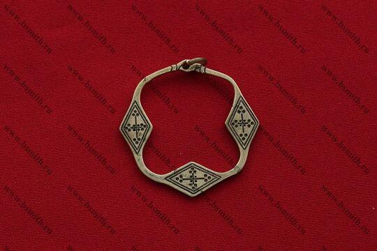 Височное кольцо, Новгород, фото 1
