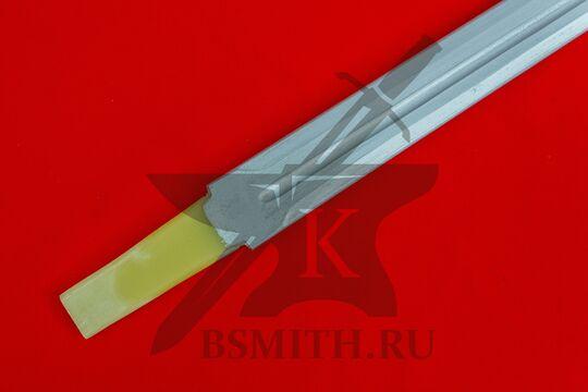 Клинок текстолитовый 85/95 см, хвостовик крупно