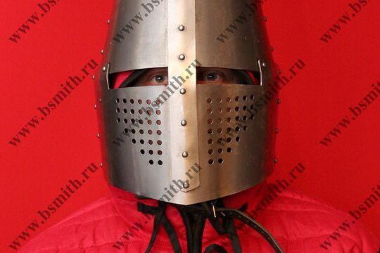 Шлем топхельм тренировочный, фото 2